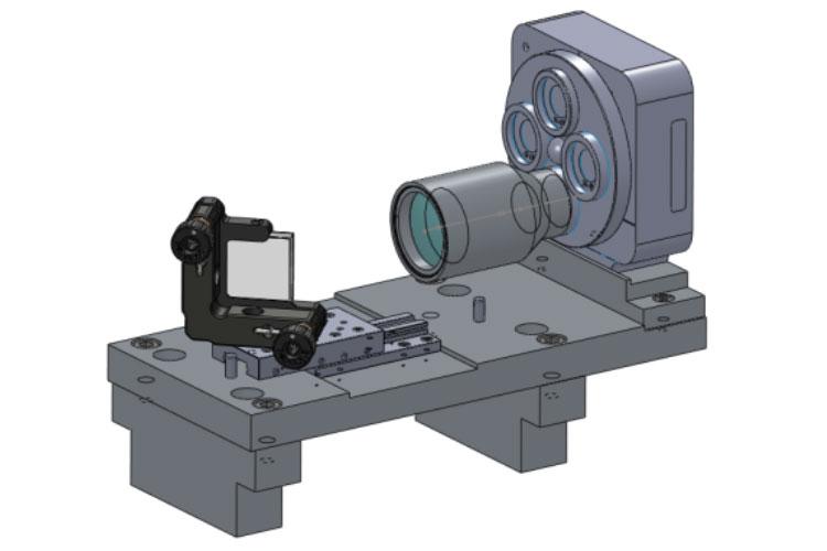 Projekt: Optimierung Justage- und Messvorrichtungen für die  Montage und Test der optischen Komponenten im Bereich von 193nm.