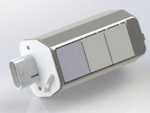 Optische Einheit für die Personenerkennung 3-kanaliger optoelektronischer Sensor