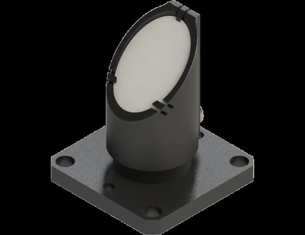 Mirror holder one-half (1/2) inch