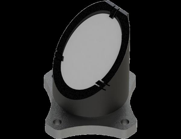 Mirror holder one inch