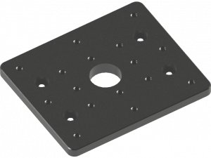top, mounting plate, X-Stage